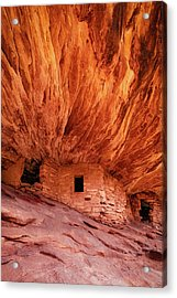 House On Fire Acrylic Print by Edgars Erglis