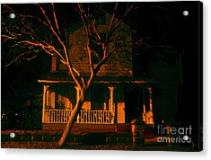 House On Haunted Hill Acrylic Print by David Lee Thompson