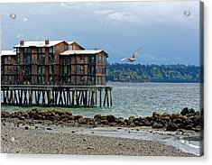 House On Stilts Acrylic Print