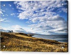 House On The Coast Acrylic Print by Scott Kemper