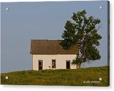 House On The Hill Acrylic Print by Don Durfee