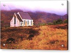 House On The Prairie Acrylic Print