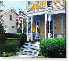 House On Washington Street Acrylic Print