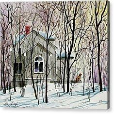 House Sitting Acrylic Print by Art Scholz