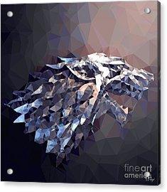 House Stark Acrylic Print