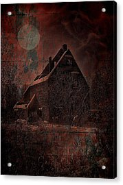 House With A Story To Tell Acrylic Print by Mimulux patricia no No