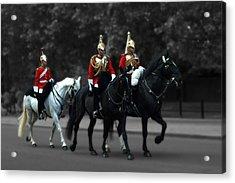 Household Cavalry Acrylic Print