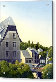Houses At Murol Acrylic Print
