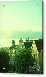 Acrylic Print featuring the photograph Houses by Jill Battaglia