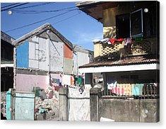 Housing Acrylic Print by Jez C Self