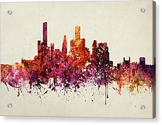 Houston Cityscape 09 Acrylic Print