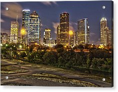 Houston Cityscape3 Acrylic Print