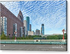 Houston Seven Wonders Cityscape Acrylic Print by Tod and Cynthia Grubbs