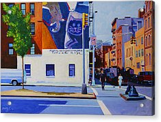 Houston Street Acrylic Print by John Tartaglione
