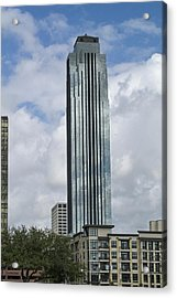 Houston - Williams Tower Acrylic Print by Allen Sheffield