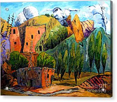 Hovenweep The Penthouse  Acrylic Print