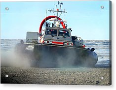 Hover Craft Acrylic Print by Anthony Jones