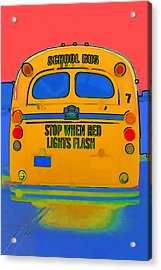 Hoverbus Acrylic Print by Gregory Scott
