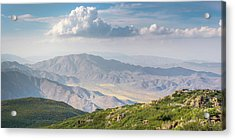 Acrylic Print featuring the photograph Hovering Over Granite Mountain by Alexander Kunz