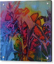 How Her Garden Grows Acrylic Print by Mary Sullivan