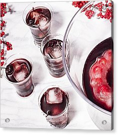 How Pretty Is This Mocktail For Your Acrylic Print