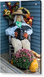 How To Scare Crows Acrylic Print