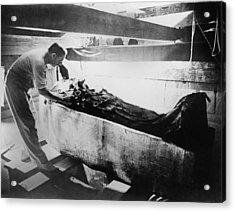 Howard Carter 1874-1939,  Turning Back Acrylic Print by Everett
