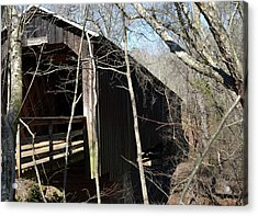 Howards Covered Bridge Acrylic Print by Eva Thomas