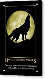 Howl Of The Wolf Movies Acrylic Print