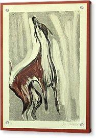 Howling For Joy Acrylic Print
