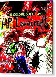 Hp Lovecraft Poster  Acrylic Print