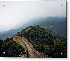 Acrylic Print featuring the photograph Huairou by Lucian Capellaro
