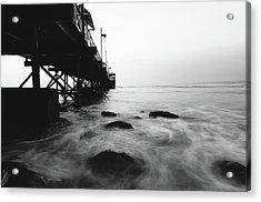Huanchaco Pier Acrylic Print