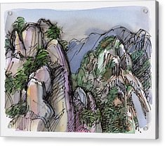 Huangshan, China Acrylic Print