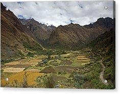 Huaripampa Valley Acrylic Print