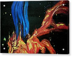 Hubble Space Vapors Acrylic Print by Gregory Allen Page