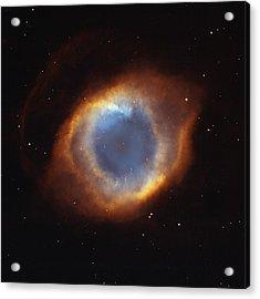 Hubble Telescope Image Of The Helix Acrylic Print by Nasa