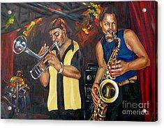 Hud N Lew/ The Daddyo Brothers Acrylic Print