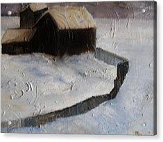 Huddell-up Acrylic Print