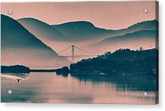Hudson Highlands Fog Acrylic Print