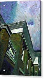 Hudson Library Acrylic Print