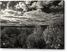 Hudson River And New Jersey Palisades From Wave Hill Acrylic Print