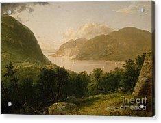 Hudson River Scene, 1857  Acrylic Print