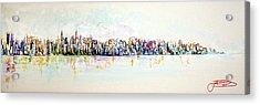 Hudson River View Acrylic Print