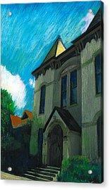 Hudson Town Hall Acrylic Print