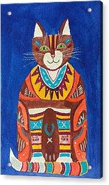 Huey Cat Acrylic Print