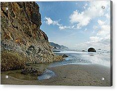 Hug Point Beach Acrylic Print