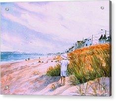 Hull's Splendor Acrylic Print by Laura Lee Zanghetti