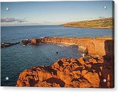 Hulopoe Beach Sunrise Acrylic Print