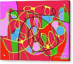 Communication Acrylic Print